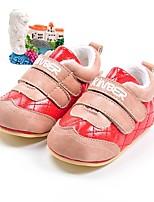 Fille Chaussures Polyuréthane Automne Hiver Premières Chaussures Mocassins et Chaussons+D6148 Pour Décontracté Rouge