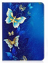 Butterfly Pattern Card Holder Wallet with Stand Flip Magnetic PU Leather Case for Samsung Galaxy Tab S2 T810 T815 9.7 inch Tablet PC