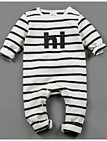 Baby Stripe One-Pieces,Cotton Fall