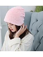 Для женщин Шапки Широкополая шляпа,Осень Зима Шерсть Хлопок Однотонный