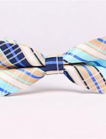 Men's Polyester Cotton Blend Bow Tie,Pattern Print All Seasons