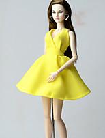 Robes Robes Pour Poupée Barbie Robes Pour Fille de Jouets DIY