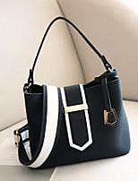 Women Bags All Seasons PU Tote Zipper for Shopping Casual Black Gray Brown Army Green