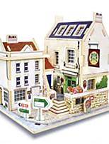 3D Puzzles Model Building Kits Toys Architecture Houses Kids 1 Pieces