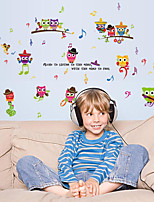 Music Wall Stickers Plane Wall Stickers Decorative Wall Stickers,Plastic Material Home Decoration Wall Decal