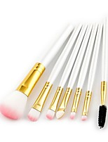 7 pcs Contour Brush Makeup Brush Set Blush Brush Eyeshadow Brush Brow Brush Eyelash Brush Concealer Brush Powder Brush Sponge Applicator