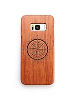 Case For Samsung Galaxy S8 Plus S8 Shockproof Pattern Back Cover Geometric Pattern Hard Wooden for S8 Plus S8 S7 edge S7 S6 edge plus S6