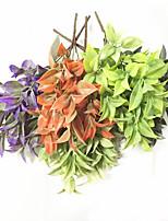34cm 3 Pcs 5 branches/pc Home Decoration Artificial Beautiful Grasses