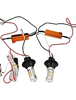 2pcs 1156 BAU15S 42 SMD led Single Light Daytime Running LightTurn Signal DRL Brake Light Bulbs DC12V