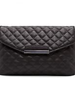 Women Bags All Seasons PU Shoulder Bag Zipper for Casual White Black