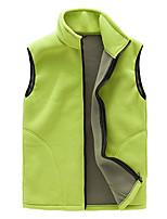 Men's Women's Hiking Vest Keep Warm Outdoor Vest/Gilet Full Length Visible Zipper for Running/Jogging Camping / Hiking Camping Camping /