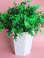 6Pcs/lot Brick Artificial Plants  Lysimachia christinae 7 Fork 35cm Spring Grass