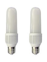 2pcs 10W E27 Ampoules Maïs LED T 58 diodes électroluminescentes SMD 2835 Blanc Chaud Blanc 800lm 3000/6000K AC 100-240V