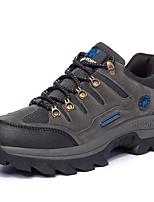 Беговые кроссовки Альпинистские ботинки Муж. Воздухопроницаемость Спорт в свободное время Низкое голенище Замша Резина Пешеходный туризм
