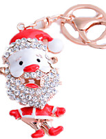 Key Chain Toys Santa Suits Unisex Pieces