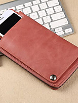 Women Bags All Seasons Cowhide Wallet Zipper for Event/Party Formal Blushing Pink Purple