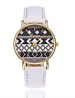 Women's Dress Watch Fashion Watch Wrist watch Chinese Quartz PU Band Black White Blue Red Brown Green Pink Purple Yellow Beige