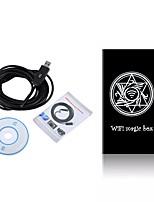 wifi endoscope caméra 5.5mm lentille endoscope étanche ip67 caméra endoscopique pour ios android usb endoscope 5 m câble