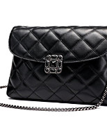 Women Bags PU Shoulder Bag Zipper for Casual All Seasons Black