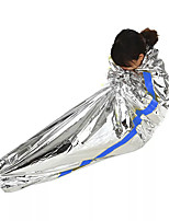 Emergency Blanket Heat Retaining Heat-Insulated Folding EVA 10 for Camping / Hiking / Caving Camping & Hiking All Seasons