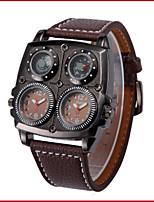 Men's Dress Watch Fashion Watch Wrist watch Quartz Leather Band