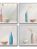 Desenho Animado Vida Imóvel Pinturas a Óleo Emolduradas Arte de Parede,Aço Material com frame For Decoração para casa Arte Emoldurada