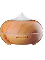 Aromatherapy Essential Oil Diffuser  Wood Grain Ultrasonic Cool Mist Whisper-Quiet Humidifier with Color LED Lights Changing & 4 Timer Settings Wate