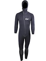 Per uomo 5mm Mute Design anatomico Veliero conservazione del calore Scafandro Manica lunga Scafandri-Pesca Immersioni Surf Sport