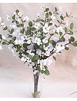 1 Branch Polyester Others Plants Tabletop Flower Artificial Flowers