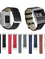 abordables -pour bracelet en cuir ionique fitbit bracelet de remplacement de bande de montre intelligente bracelet fitness tracker bandes de ceinture