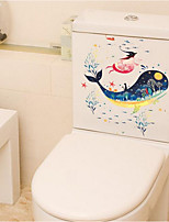 Animals Wall Stickers Plane Wall Stickers Toilet Stickers,Plastic Material Home Decoration Wall Decal