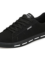 Men's Shoes PU Spring Fall Comfort Sneakers For Casual Red Gray Black