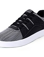 Men's Shoes Tulle Spring Fall Comfort Sneakers For Casual White/Blue Black