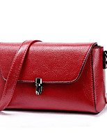 Women Bags All Seasons Cowhide Shoulder Bag Zipper for Purple Light Grey Wine