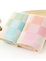 Style frais Essuie-mains,Carreaux Qualité supérieure 100% Coton Serviette
