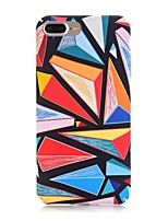cheap -Case For Apple iPhone X iPhone 8 Frosted Pattern Back Cover Geometric Pattern Hard PC for iPhone X iPhone 8 Plus iPhone 8 iPhone 7 Plus