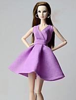 Robes Robes Pour Poupée Barbie Robe Pour Fille de Jouets DIY