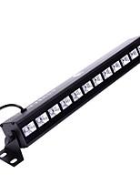 uq zq-b199b-yk 36 w 12 leds uv blacklight mur lavage lumière effet d'éclairage de scène avec télécommande