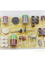 fp 105pcs prático escultura triturando ferramentas de polimento kits terno - colormix