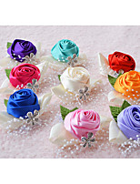 Wedding Flowers Wrist Corsages Wedding Silk 2.36