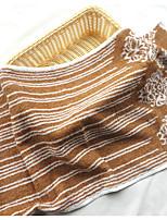 Style frais Serviette,Rayures Qualité supérieure Pur Coton Serviette