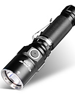 KLARUS ST15 LED Flashlights / Torch Handheld Flashlights/Torch LED 1100 lm Manual Mode Cree CREE XP-L HI V3 Professional Waterproof