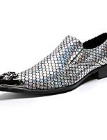 Homme Chaussures Cuir Nappa Printemps Automne Confort Nouveauté Chaussures formelles Mocassins et Chaussons+D6148 Rivet Pour Mariage