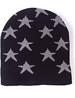 Women's Sweater Ski Hat,Hat Print All Seasons Jacquard