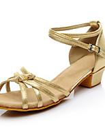 Women's Latin Carbon Fiber Heel Performance Customized Heel Silver Black Gold Customizable