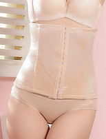 Women's Underbust Corset Nightwear,Sexy Solid-Medium Nylon Spandex