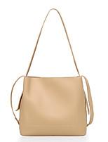 cheap -Women Bags PU Crossbody Bag Zipper for All Season Black Blushing Pink Gray Brown Khaki