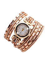 Women's Wrist watch Fashion Watch Bracelet Watch Casual Watch Quartz Imitation Diamond Nylon Band