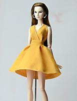 Robes Habillé Pour Poupée Barbie Robes Pour Fille de Jouets DIY