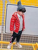 Boys' Patchwork Blouse,Polyester Winter Long Sleeve Regular